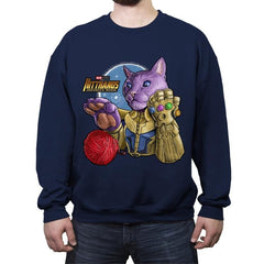KitThanos - Crew Neck Sweatshirt - Crew Neck Sweatshirt - RIPT Apparel