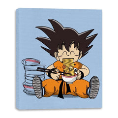 Saiyan Breakfast - Canvas Wraps - Canvas Wraps - RIPT Apparel