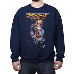 Steve's Adventure in Babysitting - Crew Neck Sweatshirt - Crew Neck Sweatshirt - RIPT Apparel
