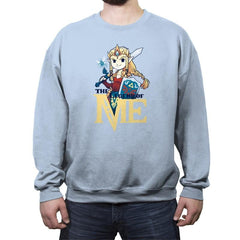 The Legend of Me - Crew Neck Sweatshirt - Crew Neck Sweatshirt - RIPT Apparel