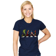 Avenger Road - Womens - T-Shirts - RIPT Apparel