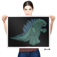 Minizilla Exclusive - Brick Tees - Prints - Posters - RIPT Apparel