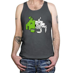 Space Invader Anatomy - Tanktop - Tanktop - RIPT Apparel