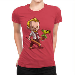 Shaun vs Zombies - Art Attack - Womens Premium - T-Shirts - RIPT Apparel