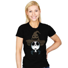 The Hat Of Sorting! - Raffitees - Womens - T-Shirts - RIPT Apparel