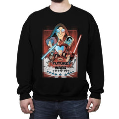 The Last Anchovy - Crew Neck Sweatshirt - Crew Neck Sweatshirt - RIPT Apparel