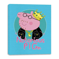 Notorious PIG - Canvas Wraps - Canvas Wraps - RIPT Apparel