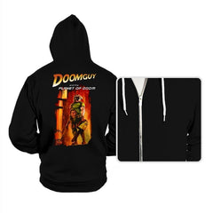 Doomguy and the Planet of Doom - Hoodies - Hoodies - RIPT Apparel