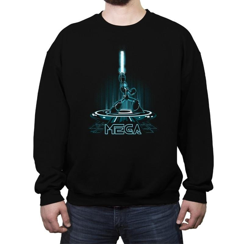 MEGA Reprint - Crew Neck Sweatshirt - Crew Neck Sweatshirt - RIPT Apparel