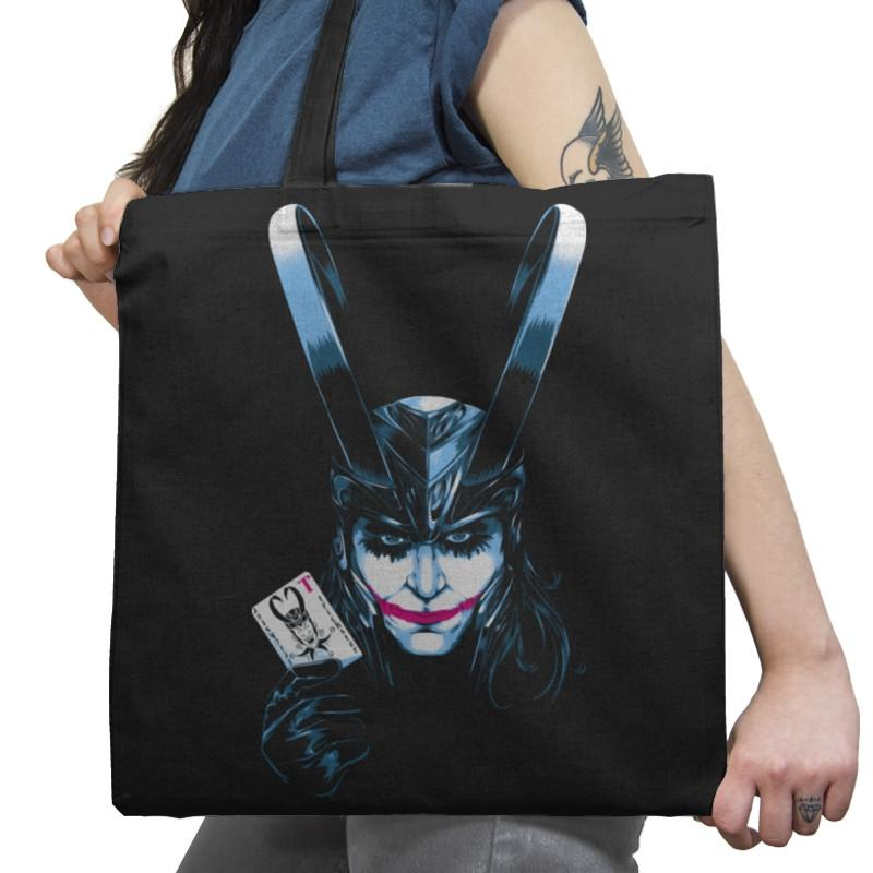 The Trickster Exclusive - Tote Bag - Tote Bag - RIPT Apparel