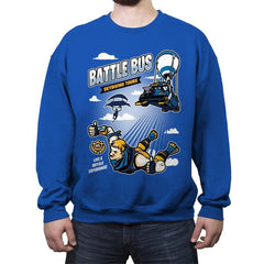 Royale Skydiving Tours - Crew Neck Sweatshirt - Crew Neck Sweatshirt - RIPT Apparel