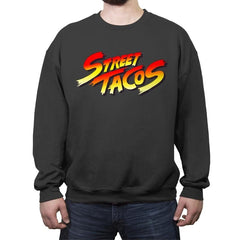 Street Tacos - Crew Neck Sweatshirt - Crew Neck Sweatshirt - RIPT Apparel
