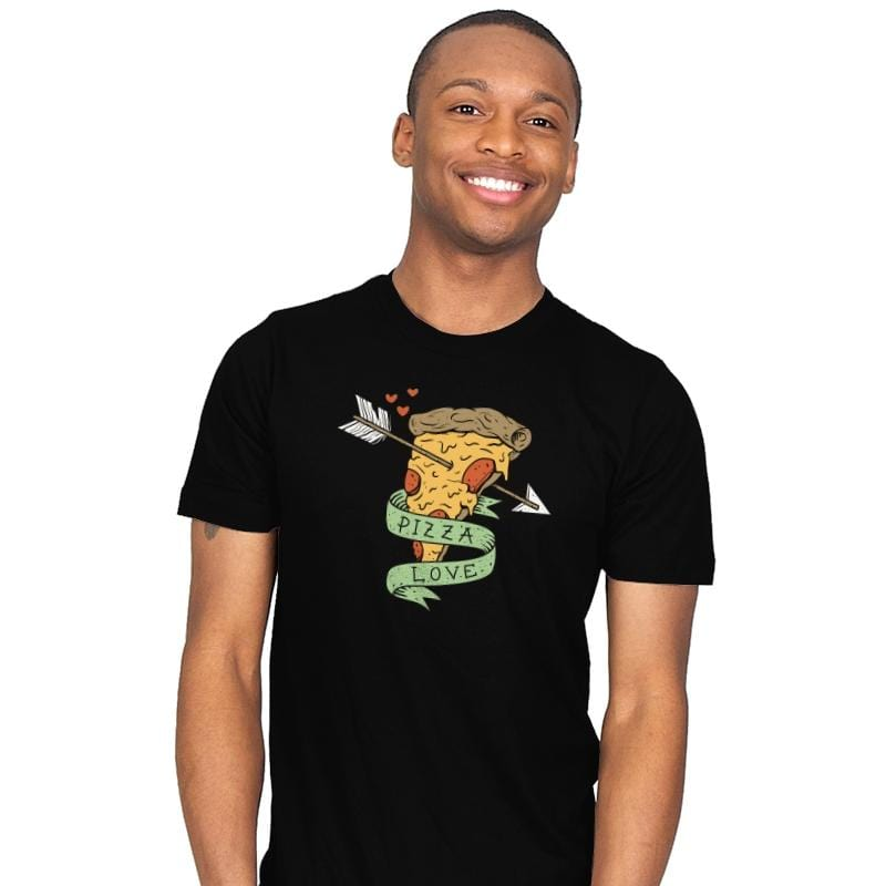 Pizza Love - Mens - T-Shirts - RIPT Apparel