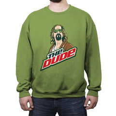 Mountain Dude - Crew Neck Sweatshirt - Crew Neck Sweatshirt - RIPT Apparel