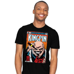 Kingpin #1 - Mens - T-Shirts - RIPT Apparel