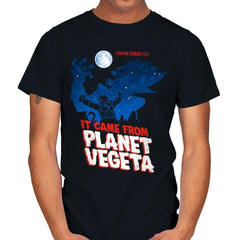 It Came From Planet Vegeta Exclusive - Mens - T-Shirts - RIPT Apparel