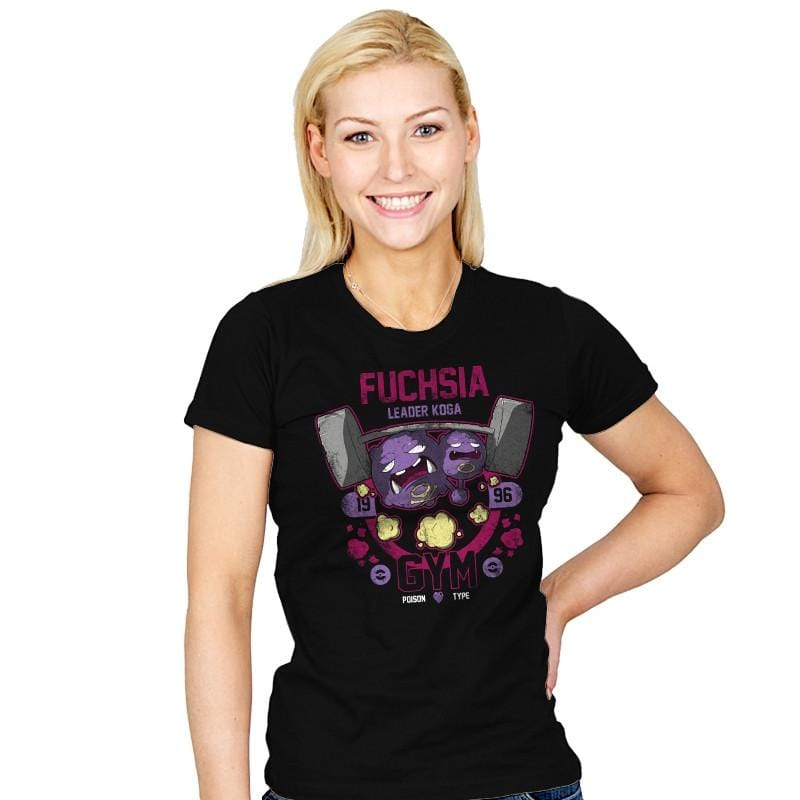 Fuchsia Gym - New Year's Evolutions - Womens - T-Shirts - RIPT Apparel
