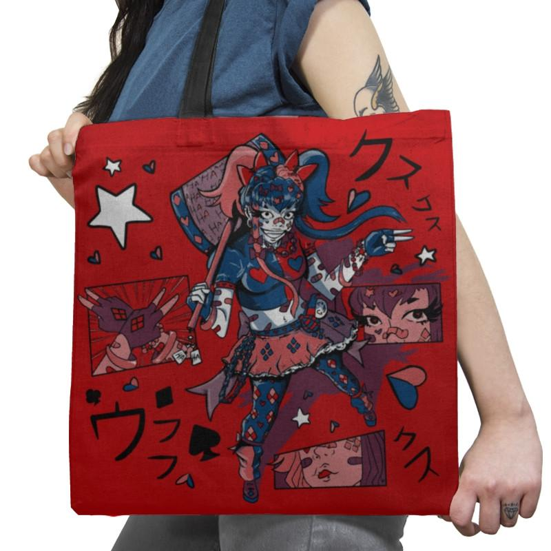 Harajuku Harley Exclusive - Tote Bag - Tote Bag - RIPT Apparel