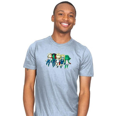 Heroic BFF's - Miniature Mayhem - Mens - T-Shirts - RIPT Apparel