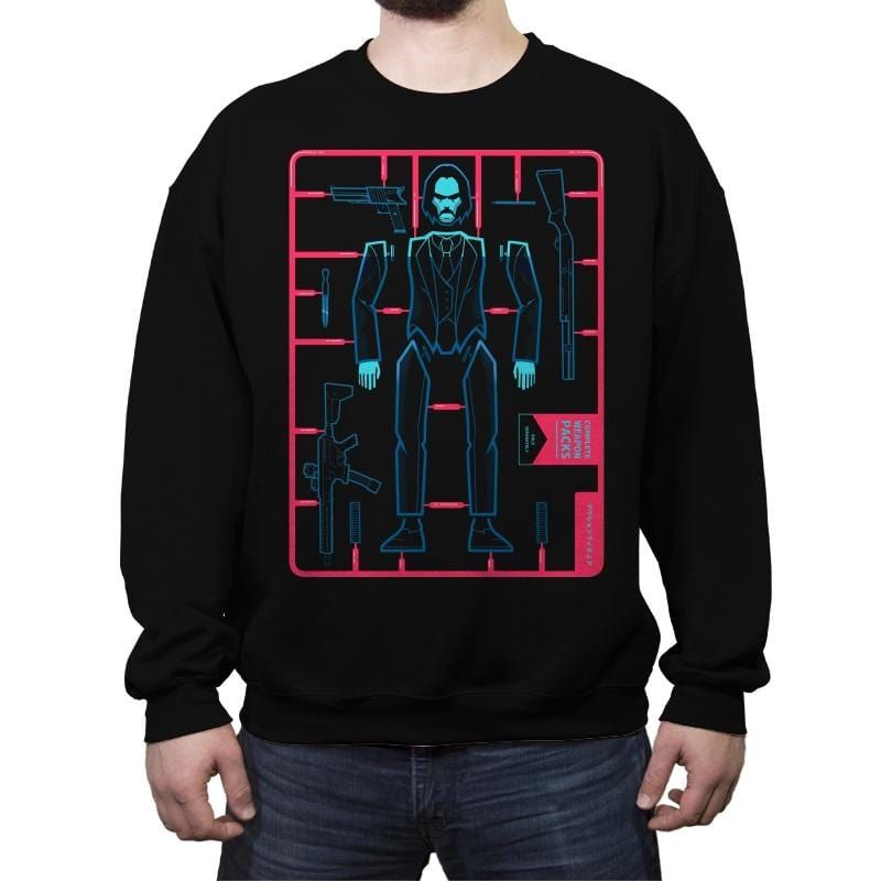 Baba Yaga Assembly Kit - Crew Neck Sweatshirt - Crew Neck Sweatshirt - RIPT Apparel