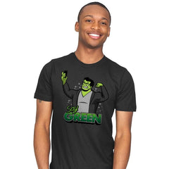 Say Green B - Mens - T-Shirts - RIPT Apparel