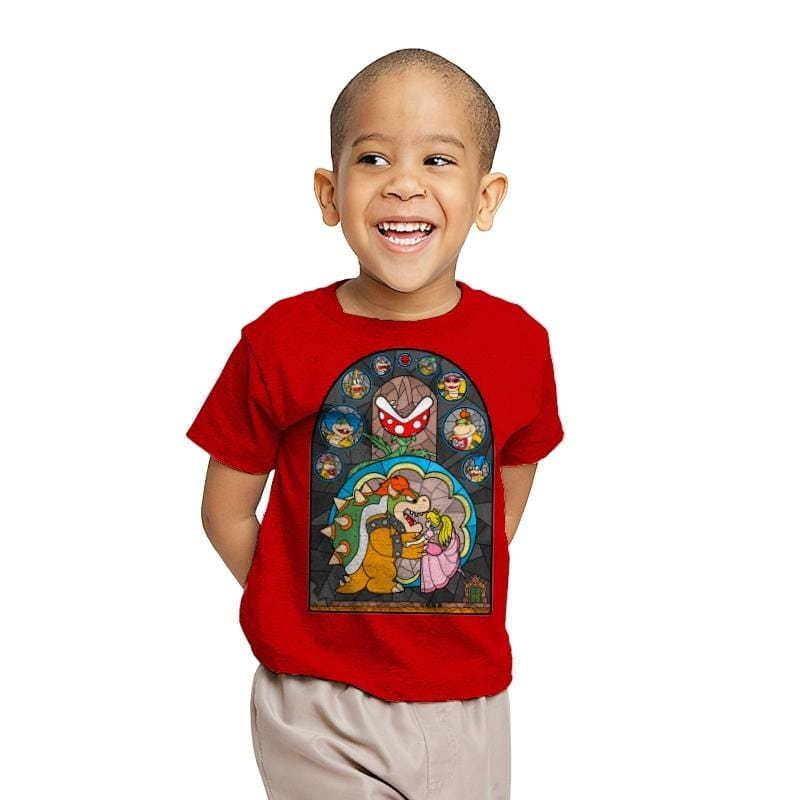 Beauty and the Bowser - Youth - T-Shirts - RIPT Apparel