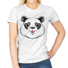 Panda Love - Womens - T-Shirts - RIPT Apparel