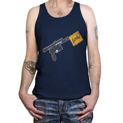 Han Shot First  - Tanktop - Tanktop - RIPT Apparel