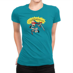 Cowabungholio Exclusive - Womens Premium - T-Shirts - RIPT Apparel
