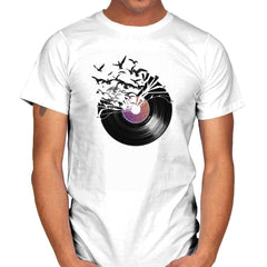 Vinyl - Back to Nature - Mens - T-Shirts - RIPT Apparel