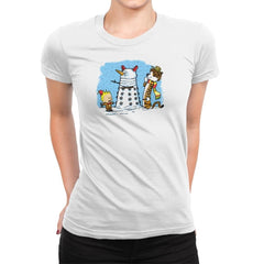 The Snow Dalek Exclusive - Womens Premium - T-Shirts - RIPT Apparel
