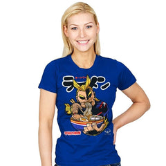 All Might Ramen - Womens - T-Shirts - RIPT Apparel