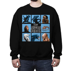 The Aliens Bunch - Crew Neck Sweatshirt - Crew Neck Sweatshirt - RIPT Apparel