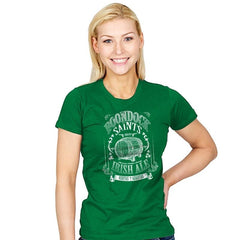 Boondocks Ale - Womens - T-Shirts - RIPT Apparel