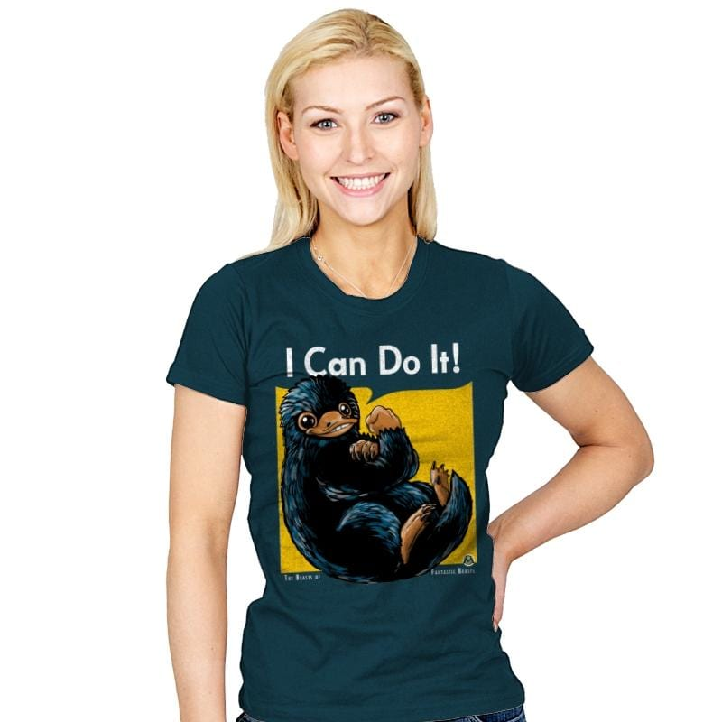 I Can Do It - Womens - T-Shirts - RIPT Apparel