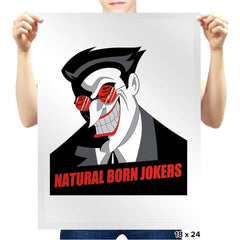 Natural Born Jokers - Prints - Posters - RIPT Apparel
