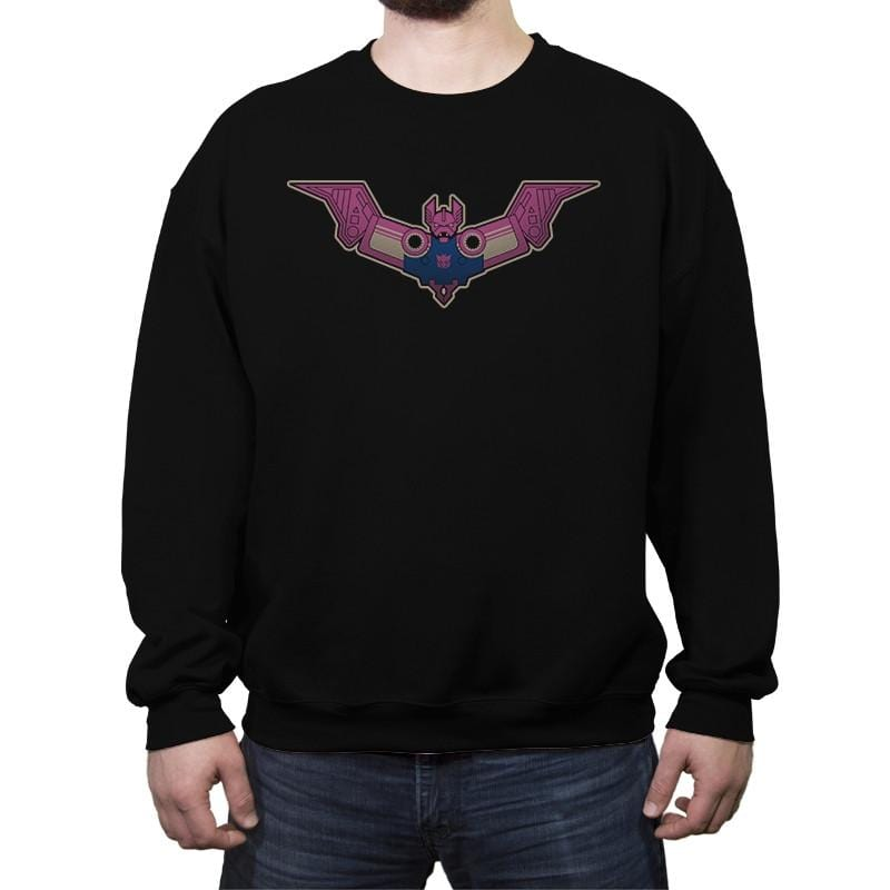 Ratbatman - Crew Neck Sweatshirt - Crew Neck Sweatshirt - RIPT Apparel