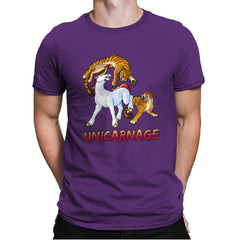 Unicarnage - Mens Premium - T-Shirts - RIPT Apparel