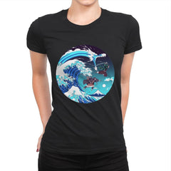 Breath of the Great Wave - Womens Premium - T-Shirts - RIPT Apparel