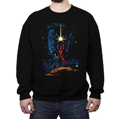 X-Force Strike Back - Crew Neck Sweatshirt - Crew Neck Sweatshirt - RIPT Apparel