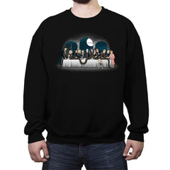 Bad Magic Dinner - Crew Neck Sweatshirt - Crew Neck Sweatshirt - RIPT Apparel
