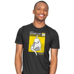 House Cat Service Manual - Mens - T-Shirts - RIPT Apparel