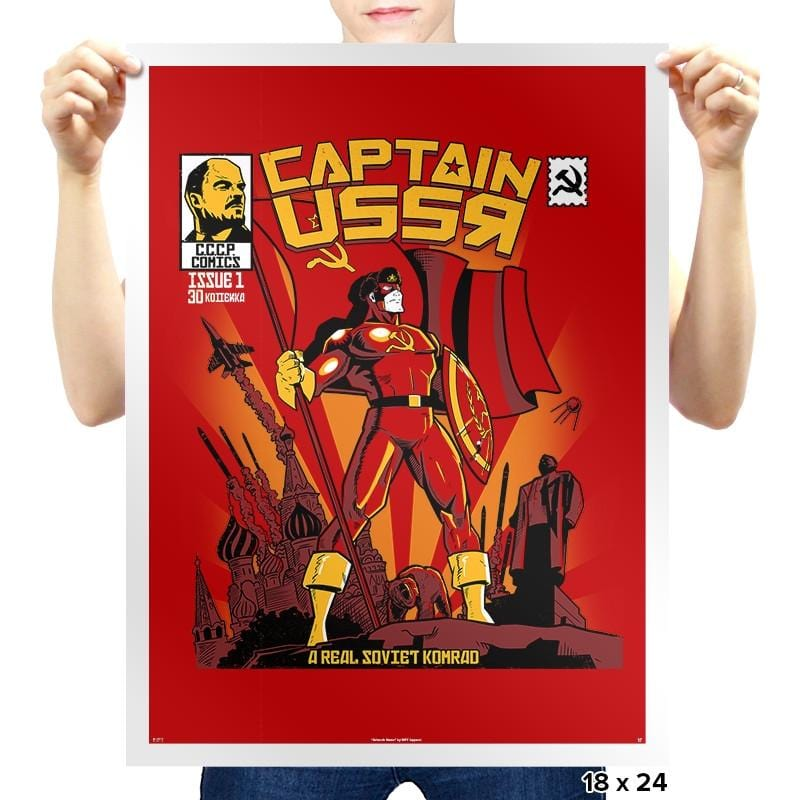 Captain USSR: Issue 1 - Prints - Posters - RIPT Apparel