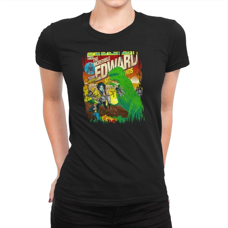 The Incredible Edward Exclusive - Womens Premium - T-Shirts - RIPT Apparel