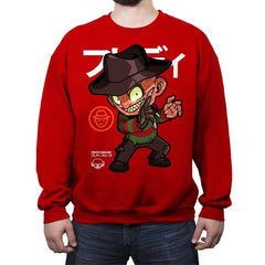 The Nightmare - Crew Neck Sweatshirt - Crew Neck Sweatshirt - RIPT Apparel