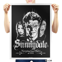 Sunnydale Watch - Prints - Posters - RIPT Apparel