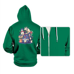 Creatures Spirits and friends - Hoodies - Hoodies - RIPT Apparel