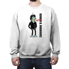 Badass - Crew Neck Sweatshirt - Crew Neck Sweatshirt - RIPT Apparel