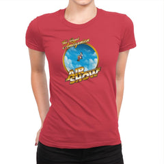 The Royal Amazonian Air Show Exclusive - Womens Premium - T-Shirts - RIPT Apparel