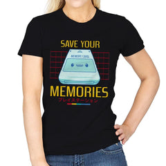 Memorycard - Womens - T-Shirts - RIPT Apparel